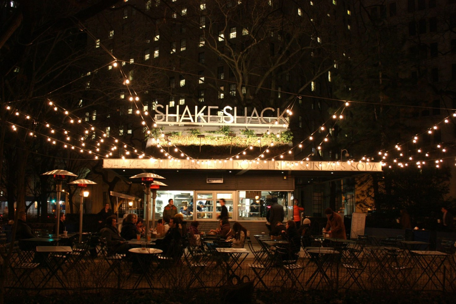 Shake Shack at Night